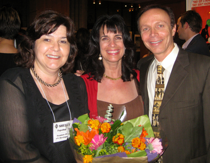 Shelly Papadopoulos (L), GHS' VP of Development and the Premiere's Chairman