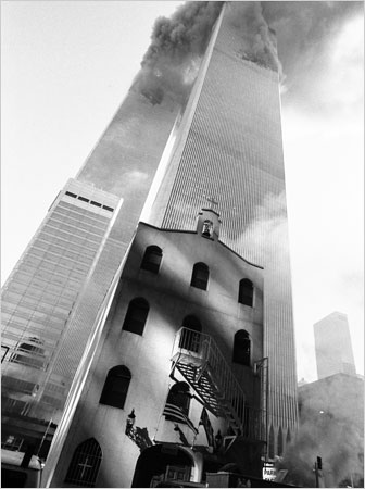 Only church destroyed on 9/11 is blocked from rebuilding